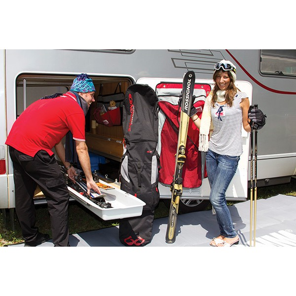 fiamma garage slide pro ski sur glissi re pour soute camping car. Black Bedroom Furniture Sets. Home Design Ideas