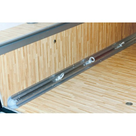 Fiamma garage bars corner rail barre fixation de soute for Rail fixation meuble haut cuisine