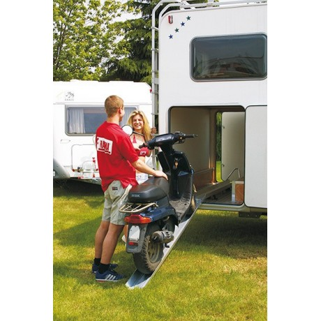 fiamma carry moto rail porte moto avec rampe de soute camping car. Black Bedroom Furniture Sets. Home Design Ideas