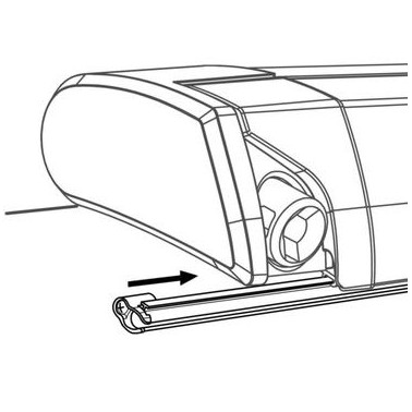 THULE Rail fixation Quickfit/easyLink 6200/900