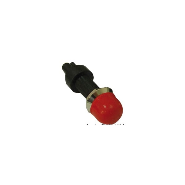Interrupteur bouton poussoir étanche 12 V switch with cap on