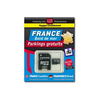 TRAILERS PARK Carte SD France Bord de Mer parkings gratuits