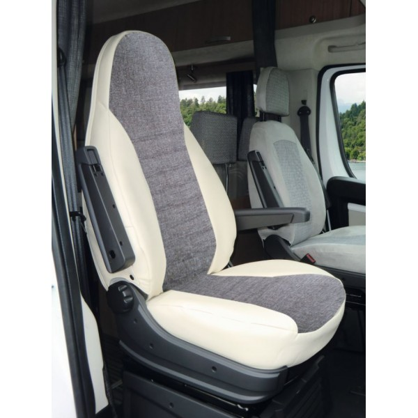 housse de si ges ducato pour si ges conducteur et passager. Black Bedroom Furniture Sets. Home Design Ideas