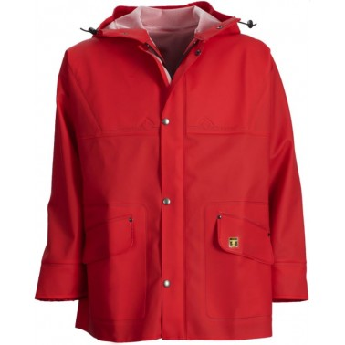 GUY COTTEN Veste Isoder Rouge