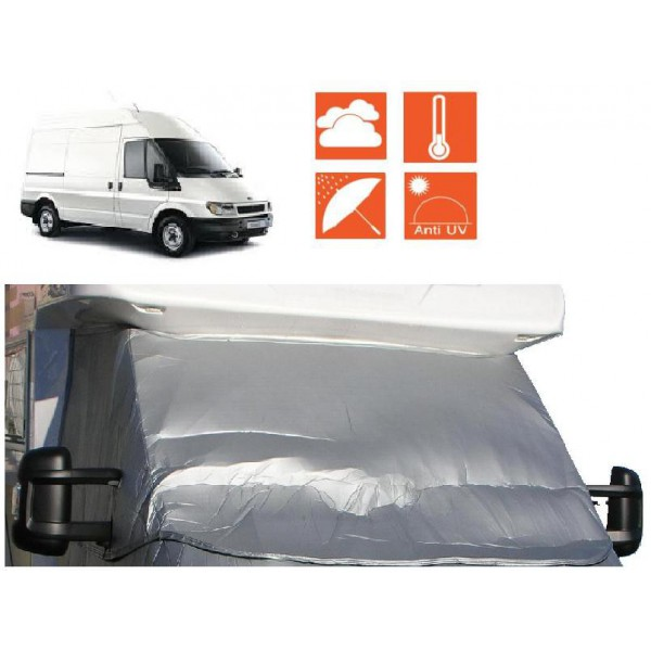 rideau isolant ext rieur de camping cars et fourgons sur ford transit. Black Bedroom Furniture Sets. Home Design Ideas