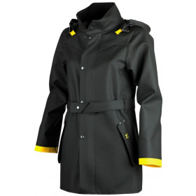 GUY COTTEN Trench Hecate Noir
