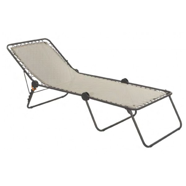 Chaise longue lafuma pour camping r sistante made in france - Chaise longue lafuma ...