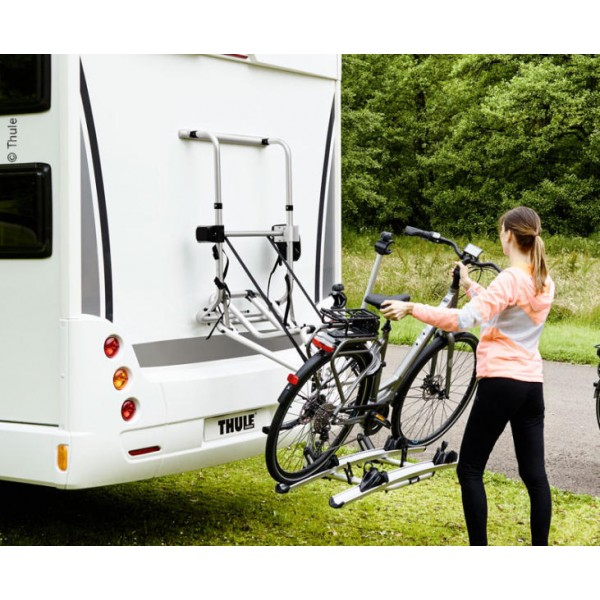 porte v lo lectrique pour camping car thule lift 12v. Black Bedroom Furniture Sets. Home Design Ideas