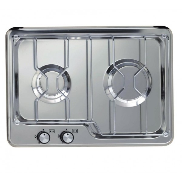 lovely table de cuisson gaz 2 feux #3:  techimpex plaque de