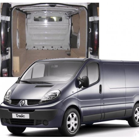 kit am nagement bois pr d coup pour renault trafic 2 kitutilitaire. Black Bedroom Furniture Sets. Home Design Ideas