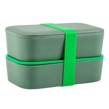 CAO Lunch box bambou double