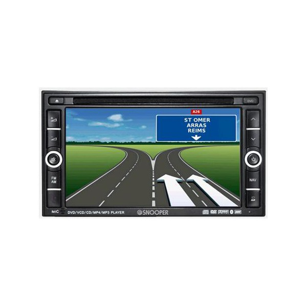snooper ventura cc9600 gps auto radio dvd sp cial pour camping car. Black Bedroom Furniture Sets. Home Design Ideas