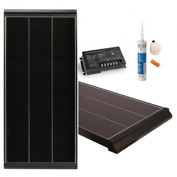 vechline kit solaire deep power 125w mppt bateau et camping car. Black Bedroom Furniture Sets. Home Design Ideas