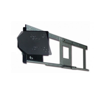 ANTARION Support TV placard 180° bras court grand modèle