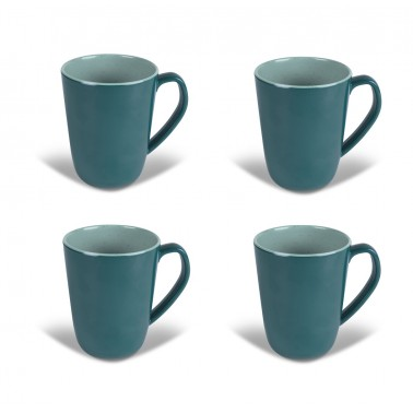 KAMPA Set 4 mugs Terracotta