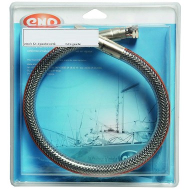 "ENO Flexinox marine 100 mm G1/4"" / G1/4"""