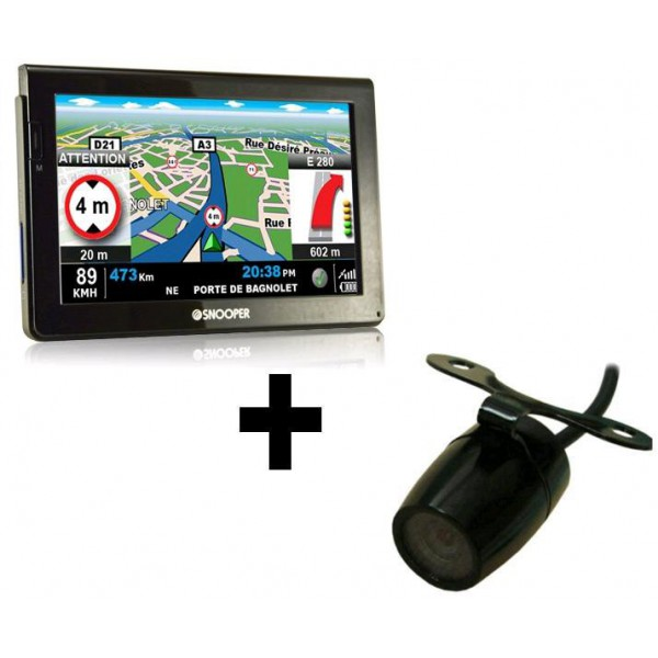 pack snooper ventura cc7000 livr avec cam ra de recul gps camping car. Black Bedroom Furniture Sets. Home Design Ideas