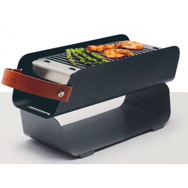 UNA Barbecue portable Gris