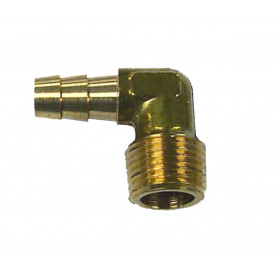 SIERRA raccord cannelé 90 filetage NPT