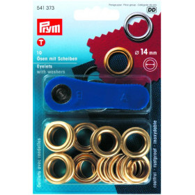 PRYM Oeillets laiton ø 14 mm