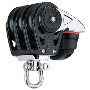 HARKEN Poulie triple/émerillon/coinceur Carbo Air