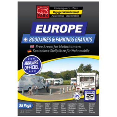 TRAILERS PARK Annuaire Europe aires gratuites camping-car