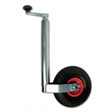 CARPOINT Roue jockey gonflable