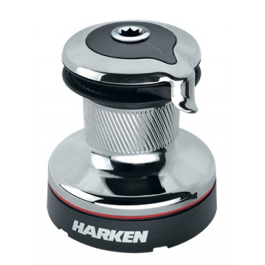 HARKEN Winch Radial 1 vitesse chrome