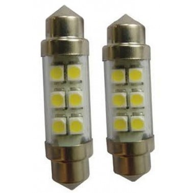 EUROMARINE Ampoule navette 6 LED