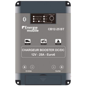 EM Chargeur Booster CB12-25 Bluetooth
