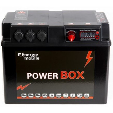EM PowerBox 1280 Wh + in solaire