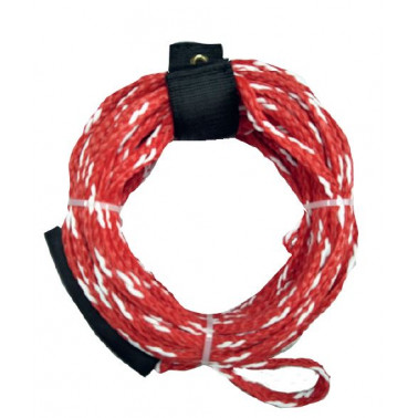 WATER ID Corde tube 1/2 personnes | bout remorquage bouée tractée & kneeboard | H2R Equipements