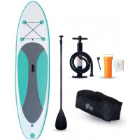 WATER ID Paddle gonflable 10' | Pack SUP complet avec pagaie et pompe gonfleur | H2R Equipements