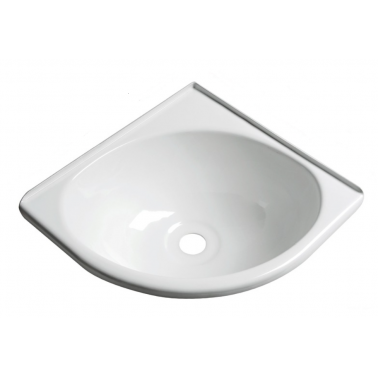 Lavabo d'angle ABS 280 x 270 mm OSCULATI - Equipement bateau - H2R Equipements