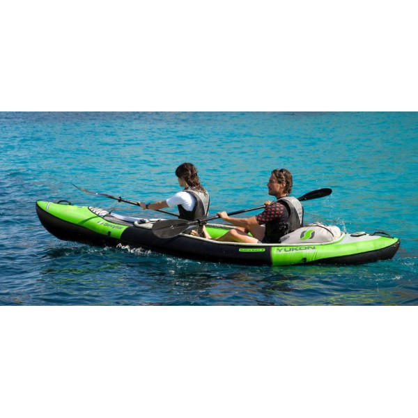 sevylor kayak gonflable transportable yukon deux. Black Bedroom Furniture Sets. Home Design Ideas