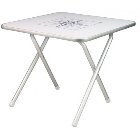 Table pliante ext rieur marine osculati bateau aluminium for Table exterieur pliante