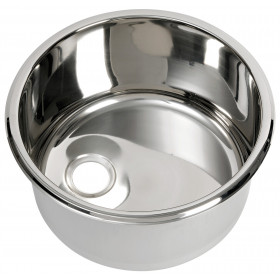 CAN Evier rond inox
