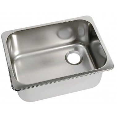 CAN Evier rectangulaire inox