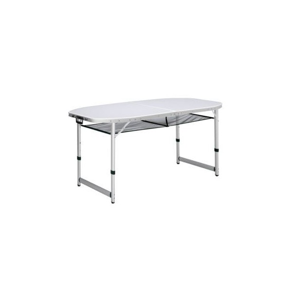 campart travel table pliante dakota aluminium materiel de camping car. Black Bedroom Furniture Sets. Home Design Ideas