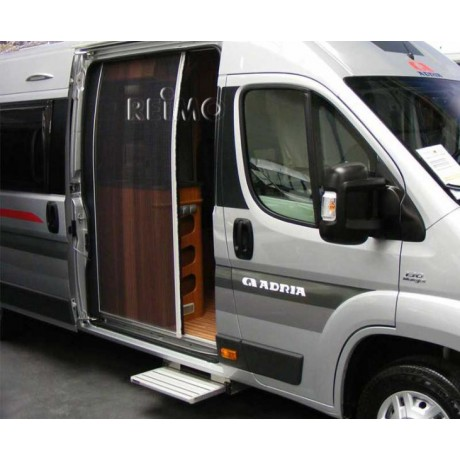 moustiquaire porte lat rale pour fourgon am nag en camping car ducato. Black Bedroom Furniture Sets. Home Design Ideas