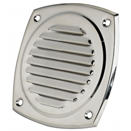 Osculati grille d 39 a ration inox ronde bateau ou fourgon - Grille aeration vide sanitaire ...
