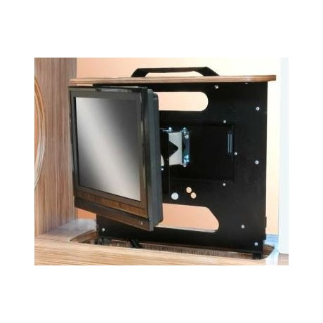 project 2000 support tv encastrable orientable camping car. Black Bedroom Furniture Sets. Home Design Ideas
